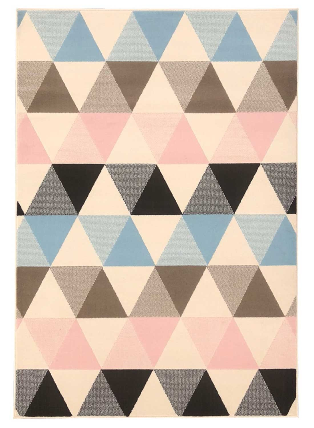 Tapis tendance Scandinave BC PASTELIANGLE multicouleur pastel