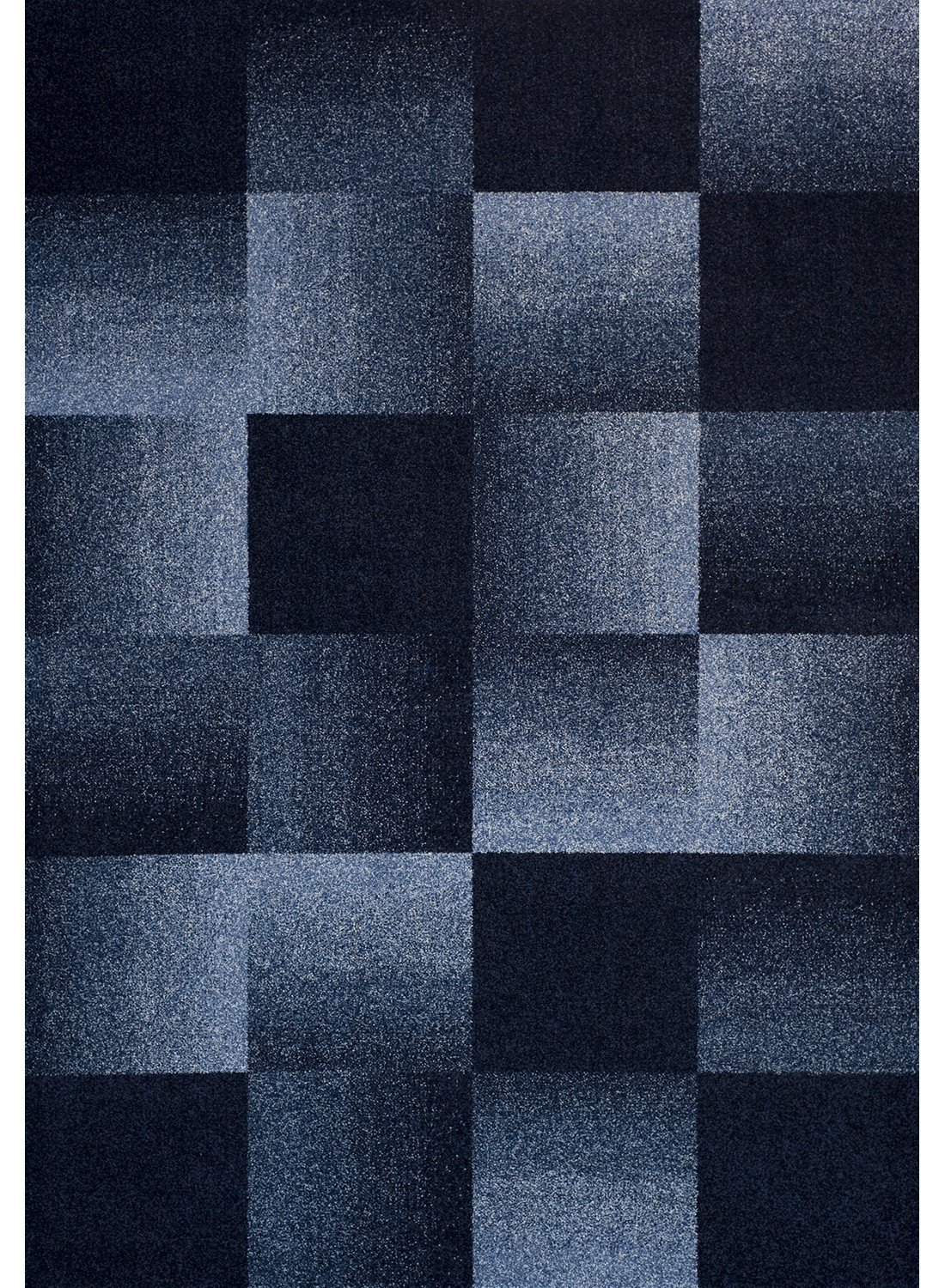 les tapis chester carreaux bleu pour le salon. Black Bedroom Furniture Sets. Home Design Ideas