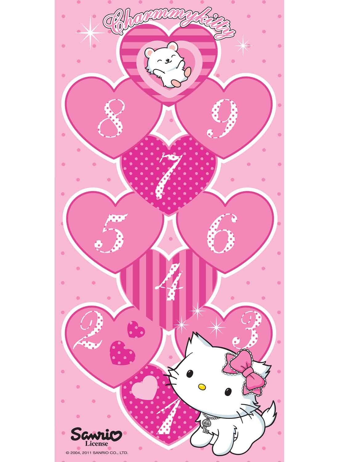 Les Tapis Charmmy Kitty Marelle Rose