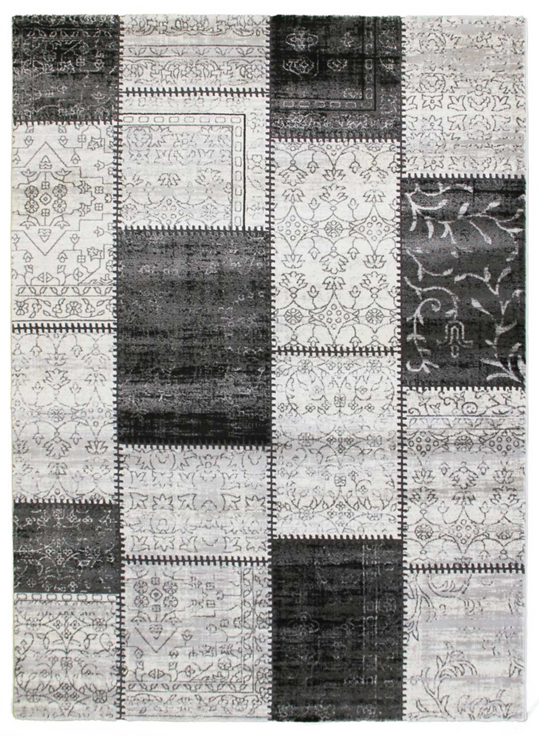 Tapis de salon LUMINOUSSA gris