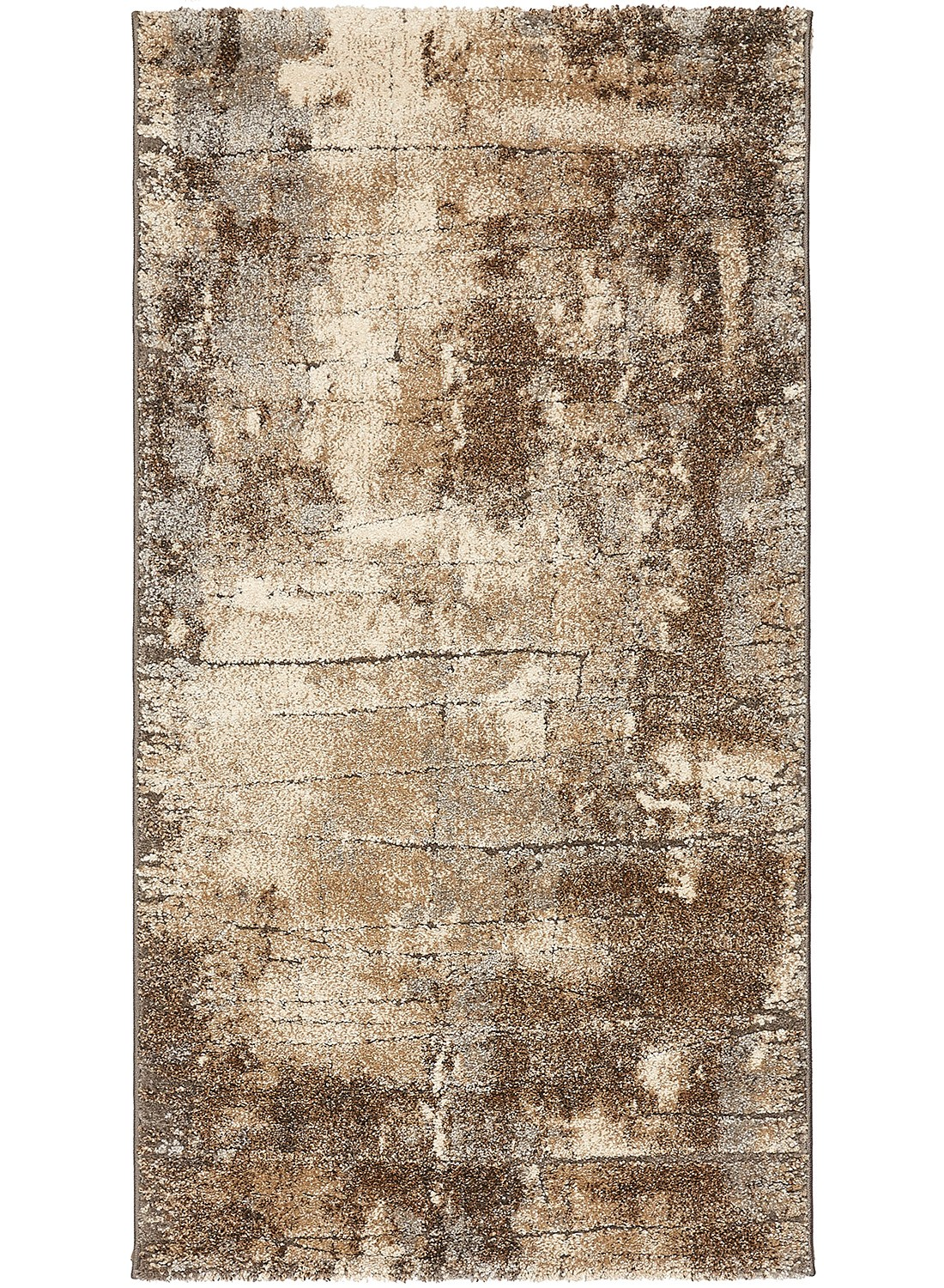 Tapis de salon NATURAL DEFRACT gris