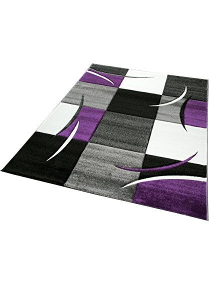les tapis diavirgule violet pour le salon. Black Bedroom Furniture Sets. Home Design Ideas