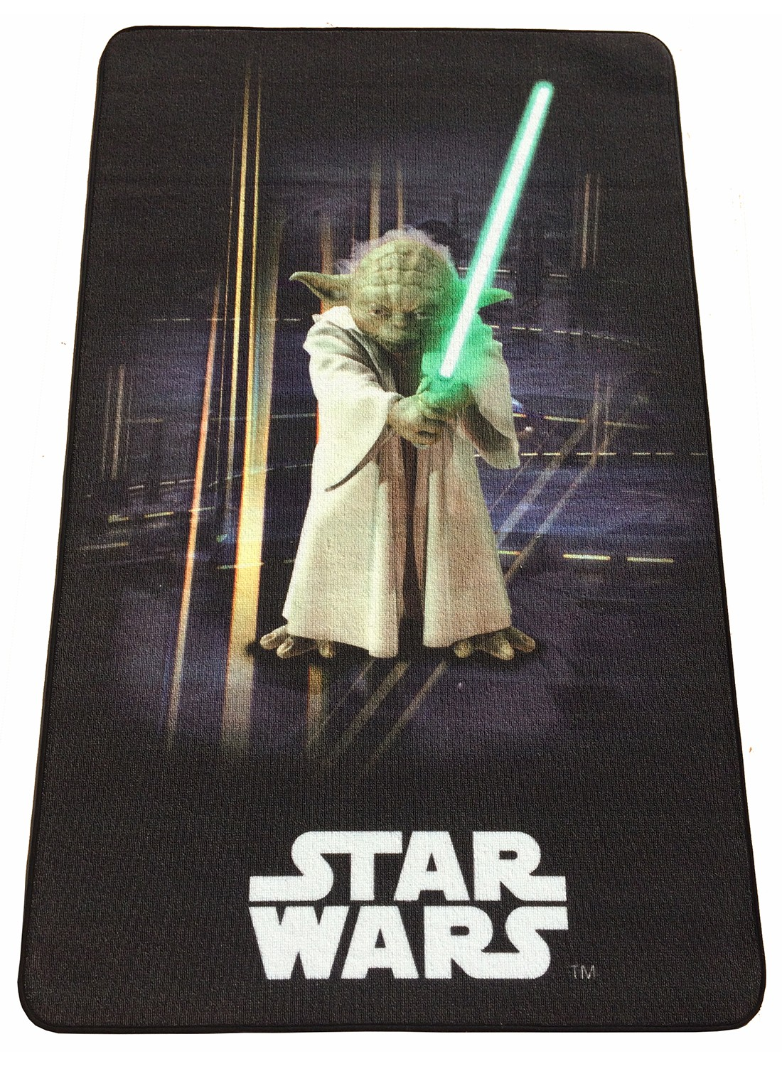 les tapis star wars yoda 2 vert. Black Bedroom Furniture Sets. Home Design Ideas
