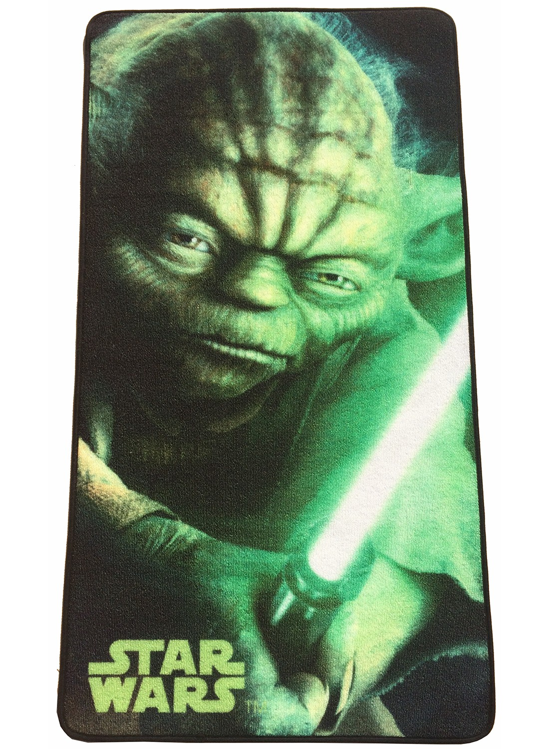 les tapis star wars yoda 3 vert. Black Bedroom Furniture Sets. Home Design Ideas