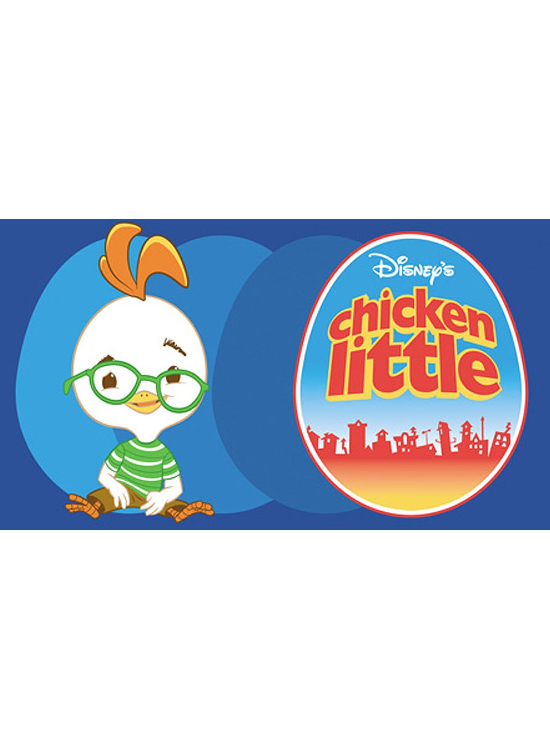 CHICKEN LITTLE bleu