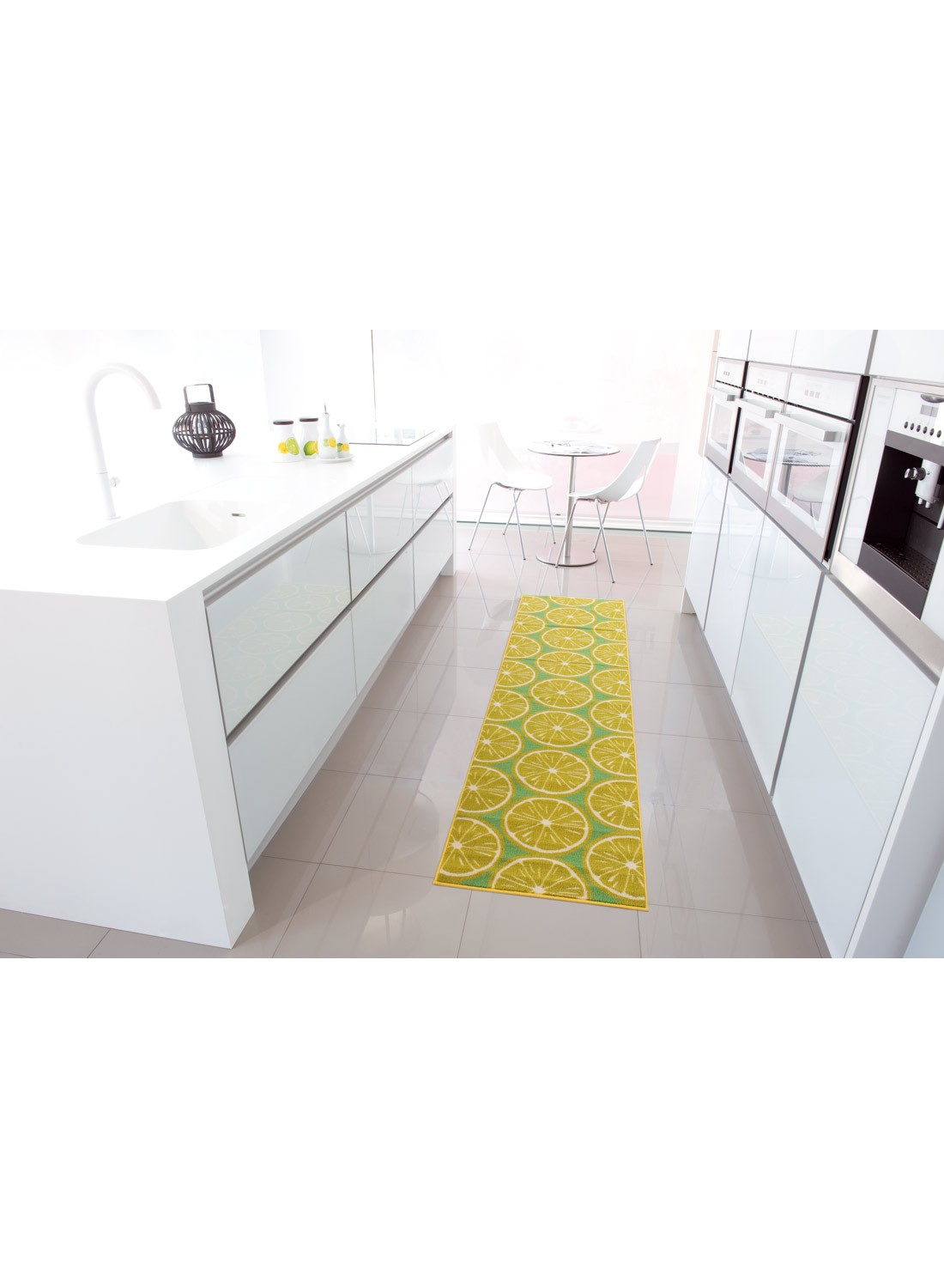 Tapis de cuisine rouge design for Tapis de cuisine plastifie