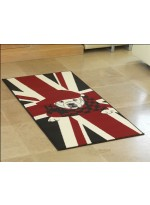 Tapis BC ENGLISH DOG rouge
