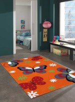 Tapis BUTTERFLY orange