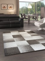 Tapis CHESTER CARREAUX beige