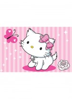 Tapis CHARMMY KITTY Papillon rose