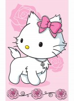 Tapis PRETTY KITTY rose