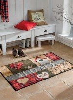 Paillasson Tapis d'entrée COTTAGE HOME TX multicouleur