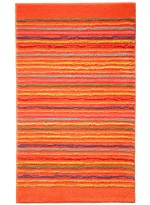 TAPIS DE SALLE DE BAIN COOL STRIPES orange