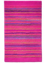 TAPIS DE SALLE DE BAIN COOL STRIPES rose