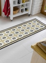 tapis de cuisine KITCHEN TILES TX beige