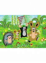 Tapis LITTLE MOLE 02 FRIENDS vert