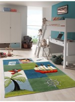 Tapis SMART PIRATE bleu
