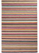 Tapis KILIM RAYE PLENTY orange  en Laine