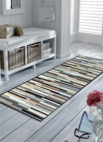 Paillasson Tapis d'entrée MIKADO STRIPES TX naturel