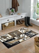 Paillasson Tapis d'entrée RELAXED JOURNEY TX marron