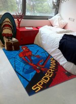 Tapis SPIDERMAN ROOF Rouge