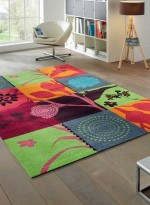 Tapis Tapis de salon SUMMER BREEZE TX multicouleur
