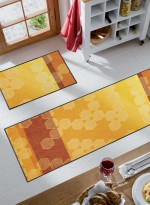 Paillasson Tapis d'entrée SUNNY SHADE TX orange