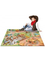 Tapis Tapis enfant jeu circuit CONNECTE ALAMO multicolore