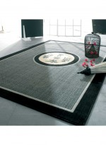 photo du tapis nihel noir