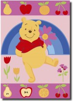 Tapis FRUITY POOH multicolor