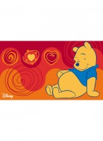 Tapis WINNIE ASSIS rouge