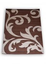 Tapis DAISY NAT marron