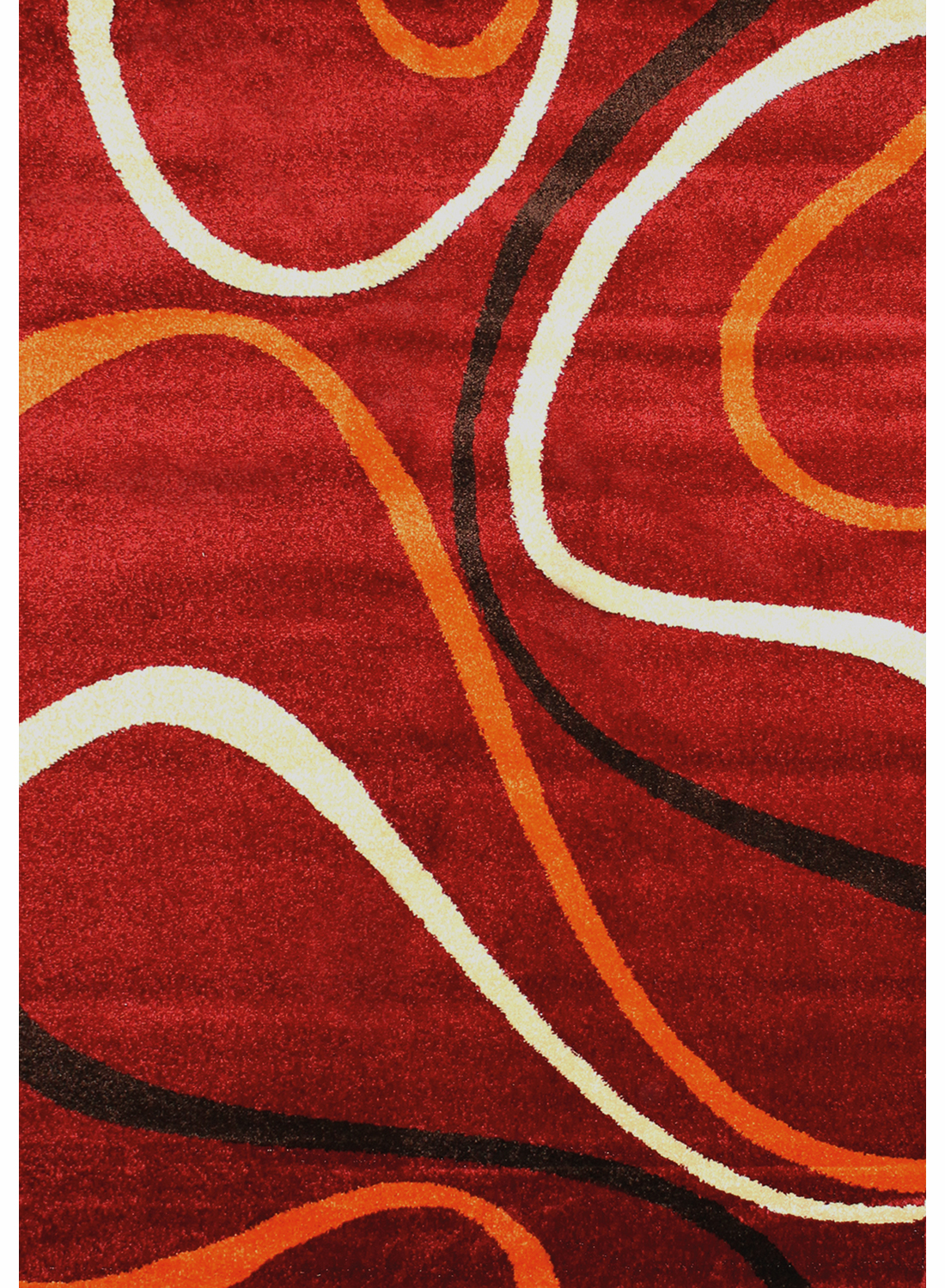 les tapis twist 4 rouge pour le salon - Tapis De Salon Rouge