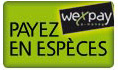 Paiement espece Wexpay
